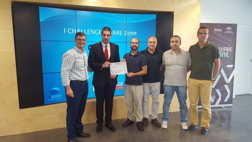 Ciclogreen Challenge IOT FIWARE Zone